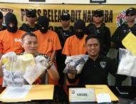 Sindikat Narkoba Jawa-Bali Dibekuk, Polisi Sita Ribuan Sabu dan Ekstas
