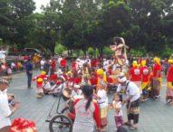 Pawai Ogoh –  Ogoh Umat Hindu di Kupang Diikuti Masyarakat Beragama Lain