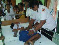 Puluhan Siswa SD Pingsan Setelah Minum Obat Frambusia