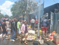 Pasar Dauh Pala Kebakaran, Satu Warung Nyaris Ludes