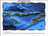 Gempa 4,1 SR Guncang Sumba Barat Daya NTT