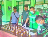 60 Anggota Kodim Sikka Test Urine – Antisipasi Penyalahgunaan Narkoba
