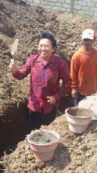 SMK TI Bali Global Klungkung Bangun Gedung Baru