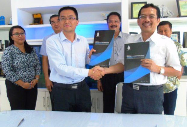 South China University of Technology Gandeng STIKOM Bali