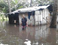 Turab Penahan Kali Namang Kewa Jebol, Puluhan Rumah Terendam Banjir