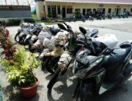 Polisi Kupang Amankan Sepeda Motor Ilegal yang Hendak Diselundupkan ke Timor Leste