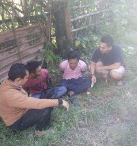 Remaja maling burung ditangkap. Foto: bnn/sid.