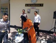 Residivis Maling Motor Buron Tiga Tahun, Sebulan Bebas Ditangkap Lagi