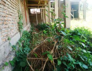 Gedung SDN Kolit yang ditelantarkan rekanan
