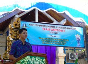 Kepal SMK TI Bali Global Karangasem Made Agus Suryadarma