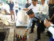 Ratusan Barang Sitaan Bea Cukai Bali Dimusnahkan