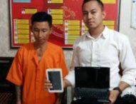 Sebulan Keluar dari Bui, Residivis Kambuhan Embat Laptop