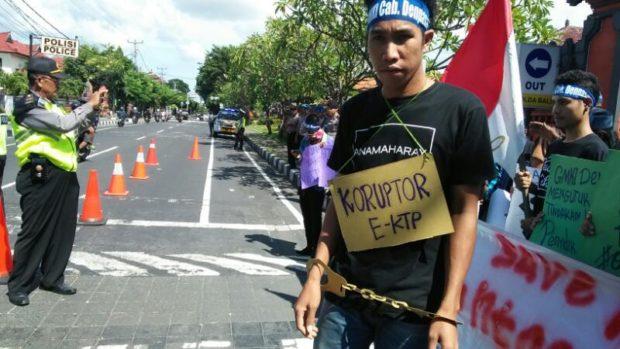GMKI Denpasar Desak Kepolisian Segera Tangkap Pelaku Penyiram Air Keras Novel Baswedan