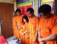 Empat Hari Polisi Jaring 5 Tersangka Narkoba, Satu Cewek