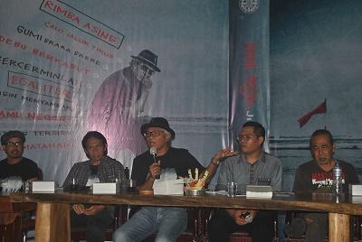 Sawong Jabo dan Bens Leo Hadiri Rilis Album Perdana Anak Angin