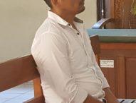 Pecatan Polisi Divonis 10 Tahun Penjara
