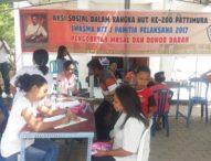 Peringati HUT Ke-200 Patimura, Warga Maluku di Kupang Gelar Pengobatan Gratis