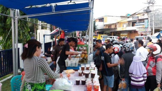 Geliat Pedagang Takjil di Bulan Ramadhan