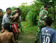 Satgas Pamtas Tangkap Warga Timor Leste Saat Mencuri Ternak