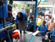 BNN Bali Musnahkan BB Sabu Dua Tersangka Kurir Sabu