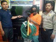 Modus Congkel Pintu Pakai Sekop, Tukang Kebun Maling TV Villa Ditangkap