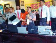 Spesialis Rampok Villa Ditangkap