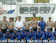Kapolda NTT Tinjau Kapal Polair Pulau Timor di Pelabuhan Benoa-Bali