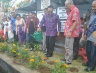 Open House Politeknik Internasional Bali, Tanam 10.000 Bunga Gemitir dan 1000 Bunga Sandat