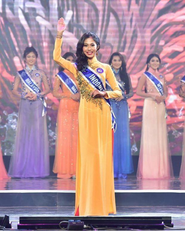 Mahasiswi STIKOM Bali Masuk Top Ten Miss ASEAN Friendship di Vietnam