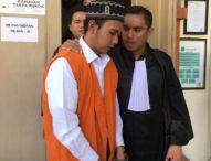 Mahfud Hudori, Pembunuh Gay Medan Divonis 8 Tahun Penjara