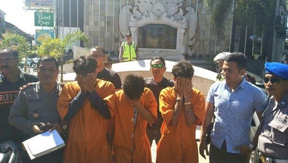 Modus Tukang Ojek-Spesalis Jambret Bule di Kuta Dibekuk, Satu DPO