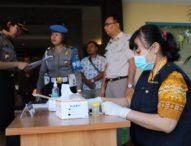 Jajaran Narkoba Polda Bali Jalani Tes Urine, Hasilnya Negatif