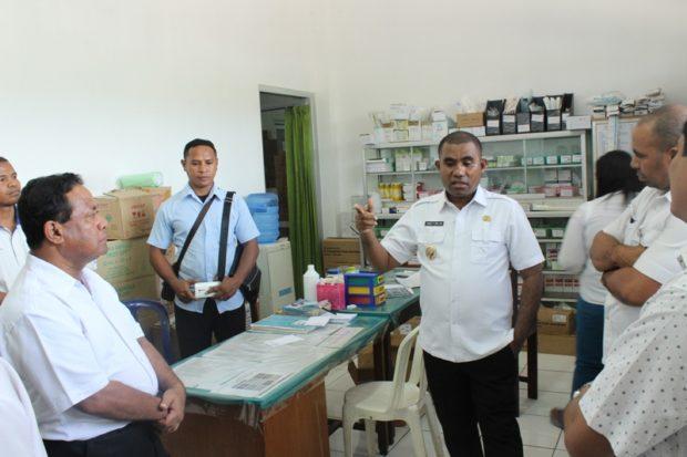 Pasien Rawat InapBeli Obat di Luar, Wabup Flotim Tegur Direktur RSUD Larantuka