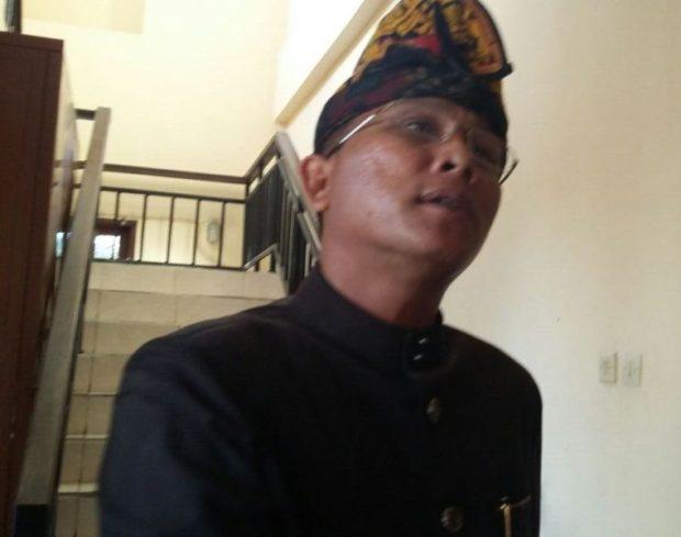 Diperiksa Sebagai Tersangka-Anggota DPRD Badung Yonda Sebut Salah Alamat