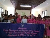 Bhayangkari Tabanan Kunjungi Yayasan Gayatri Widya Mandala