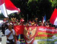 Jaga Kebhinekaan, Gema Bali Bela Pancasila Gelar Parade Kebangsaan