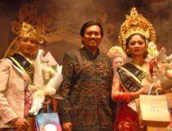 Sudarmayasa dan Putri Udiani Sabet Teruna Bagus Teruni Jegeg STIKOM Bali