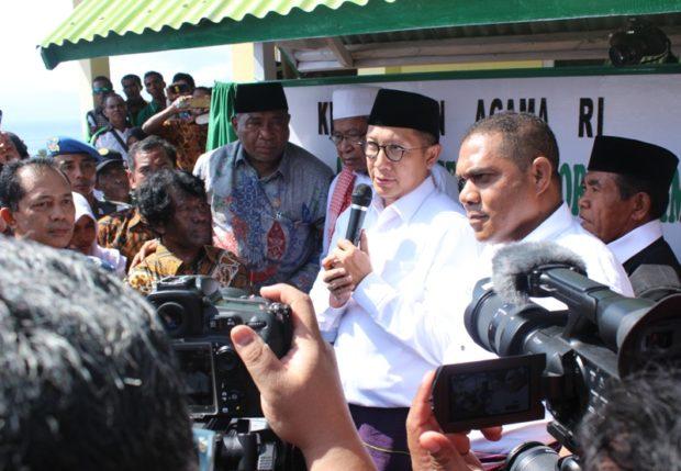 Lamakera Kampung Peradaban, Menteri Agama Minta Salurkan Rahmat Kebajikan