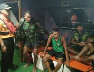 Akhir Bahagia 4 Anggota TNI Usai Dinyatakan Hilang di Laut