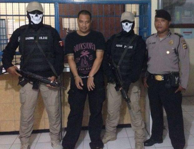 Tusuk Pecalang, Jeruk Ditangkap Saat Sembunyi dalam Lemari Baju