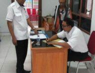 KPU Tabanan Monitoring DPT Desa yang Menggelar Pilkel Serentak