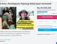 Jenny Jusuf Galang Dana Untuk Bantu Putu, Korban KDRT Hingga Kaki Putus