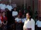 Warga PAUD Ramaikan Kota Larantuka dengan Busana Adat Lamaholot, Bupati Flotim Puji Dinas PKO