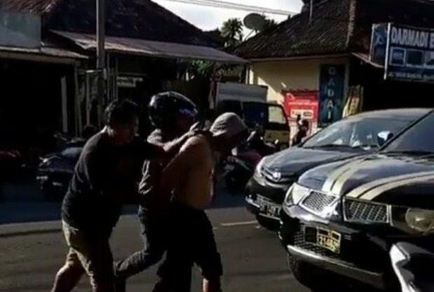 "Bak Film ""Action"", Aksi Kejar-kejaran Petugas BNN Bali Tangkap Pelaku Narkoba"