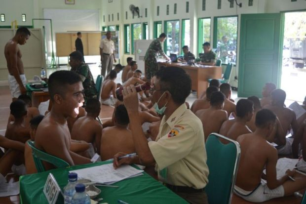 1200 Pemuda NTT Daftar Jadi Calon TNI