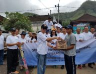DPC Peradi Denpasar Bantu Pengungsi Gunung Agung