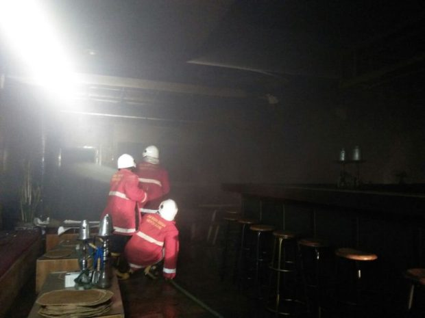Konsleting Listrik, Restoran Lodji Nyaris Ludes Terbakar