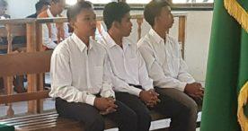 Tiga Terdakwa Peretas Website Polda Bali Dituntut 18 Bulan Penjara