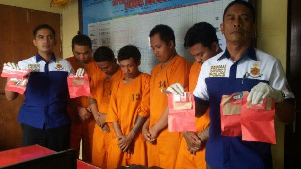 Residivis Narkoba Jadi Security Kambuh Lagi Jualan Sabu, Dibekuk