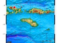 Gempa 4,3 SR Guncang Kabupaten Kupang, Tak Berpotensi Tsunami
